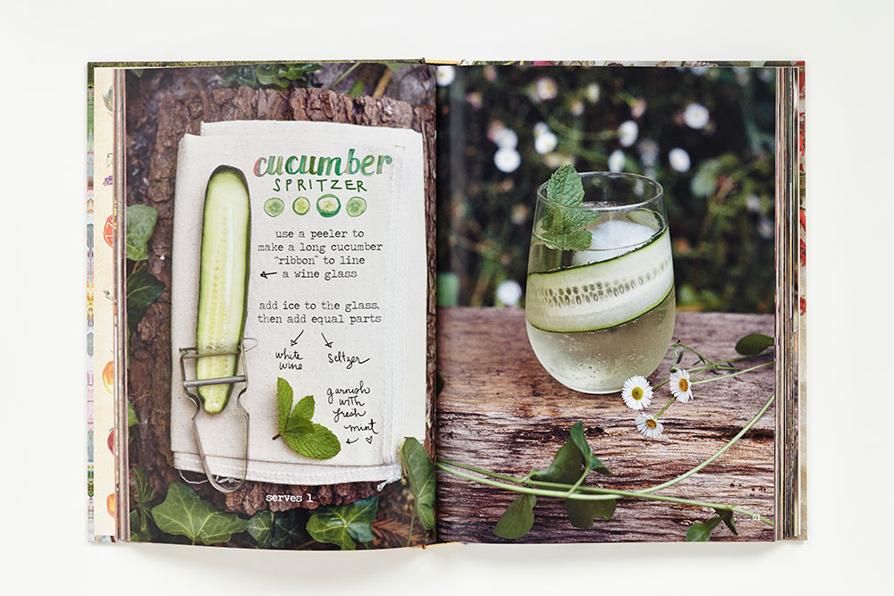 Lemon-Basil Mojito and Cucumber Spritzers: Recipes from The Forest ...