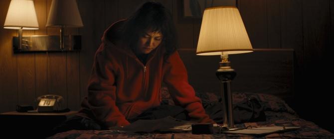 Rinko Kikuchi in KUMIKO, THE TREASURE HUNTER.