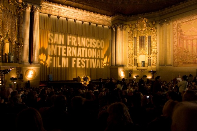 A packed house at the legendary Castro Theatre during the 51st San Francisco International Film Festival, April 24 - May 8, 2008.