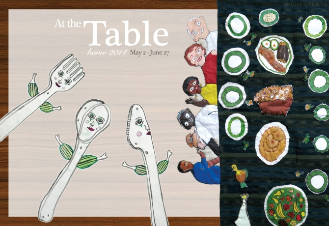 At the Table Card, Front. 2014