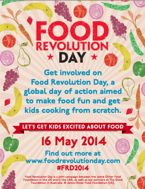 Food Revolution Day Flyer