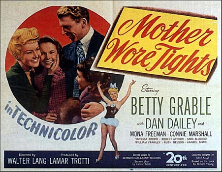 MOTHER WORE TIGHTS (1947).