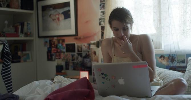 Emma Roberts in PALO ALTO.