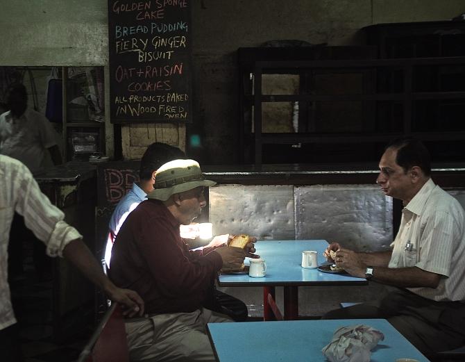 Real and imaginary patrons. Photo by Raj Rishi More.