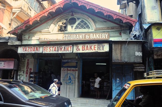 Yazdani Cafe today. Photo by Raj Rishi More.