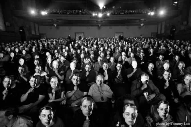 The Buster Keaton Crowd. Photo by Tommy Lau.