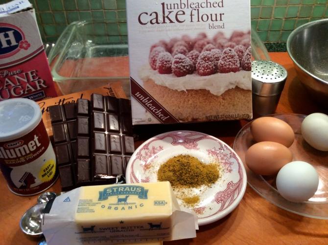 Brownies Ingredients