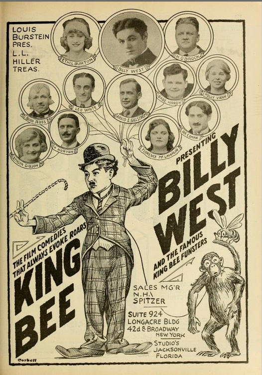 Chaplin billy west