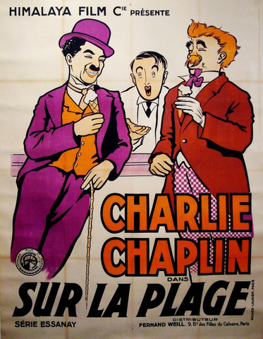 Chaplin by the sea