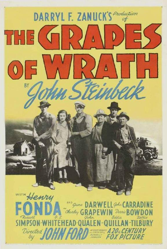 american gothic the grapes of wrath at pfa com grapes of wrath poster