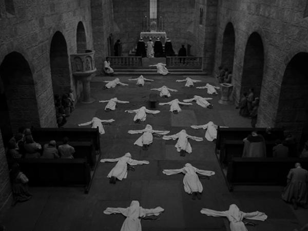 MOTHER JOAN OF THE ANGELS (dir. Jerzy Kawalerowicz, 1961)