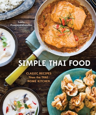 Book Cover--Simple Thai Food by Leela Punyaratabandhu