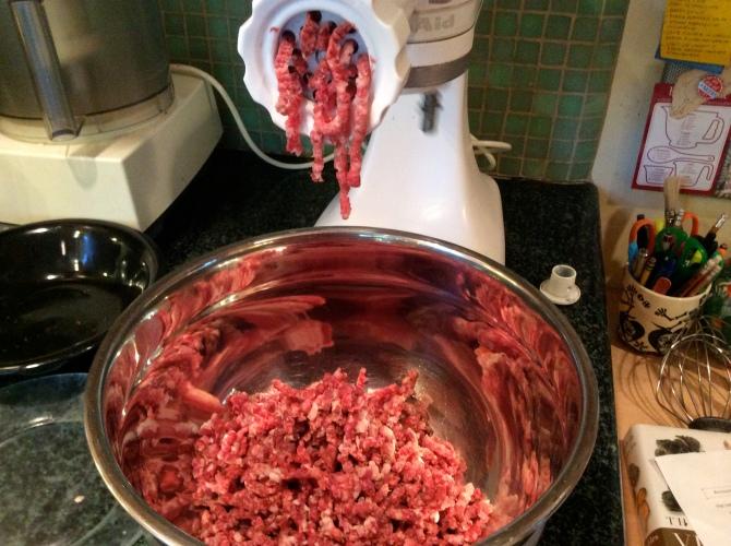 Burger Meat Grinder