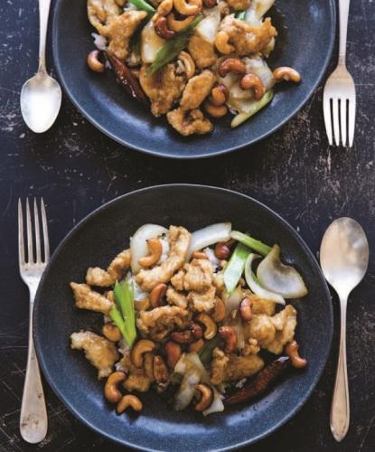 Chicken-Cashew Stir Fry