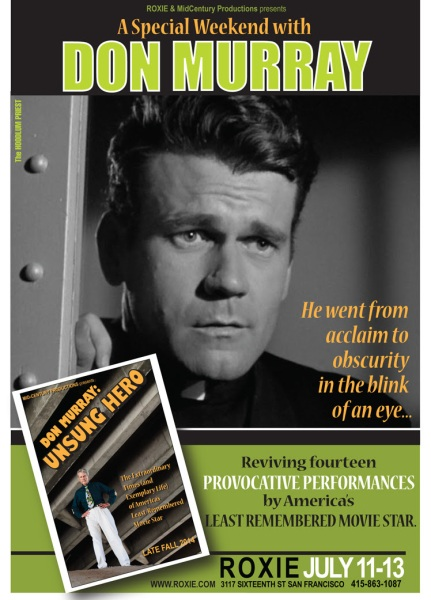 Don Murray roxie poster