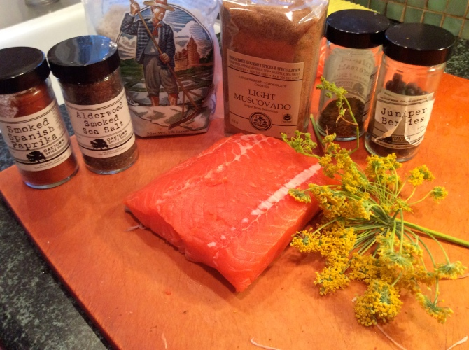 Gravlax Ingredients