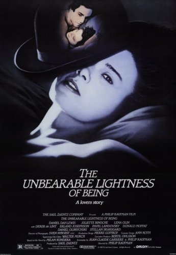 incredible lightness of being_poster