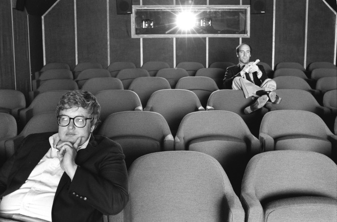 Siskel and Ebert. Photo by Kevin Horan.