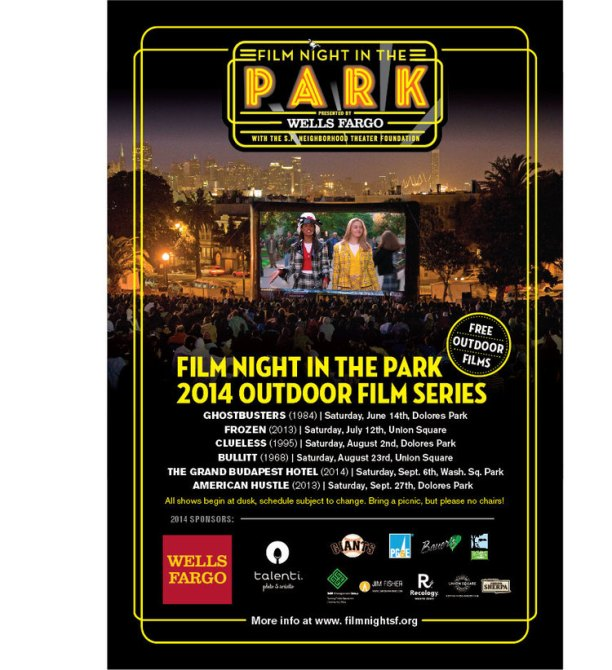 Bullitt Film Night in the Park