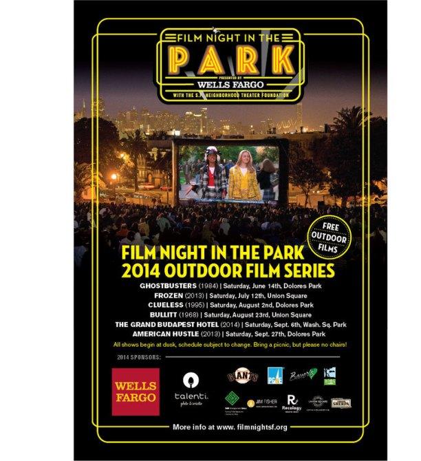 Bullitt Film Night in the Park