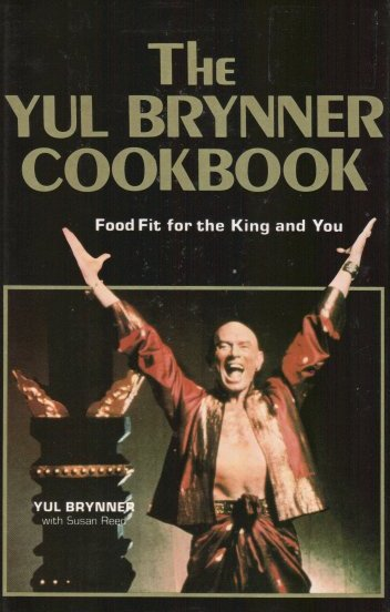 Yul Brynner cookbook