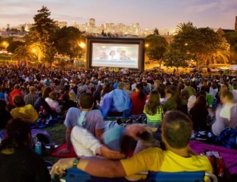 film night in park SF