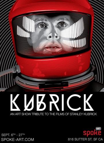 Kubrick spoke art