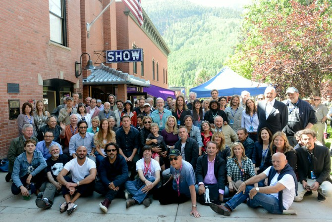 2014 Telluride Film Festival Filmmakers. Photo by Vivien Killilea/Getty Images.
