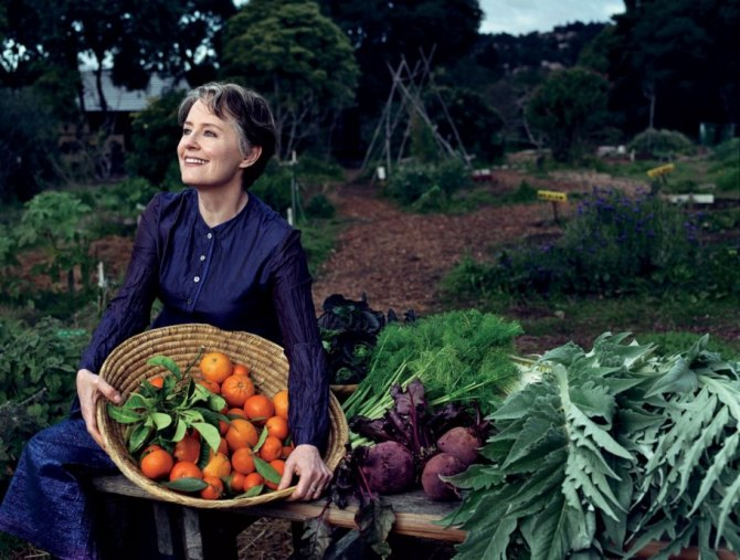 Alice Waters. Credit: NORMAN JEAN ROY/VANITY FAIR
