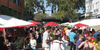 Rockridge Market picnic-in-the-street