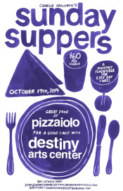 sunday suppers poster