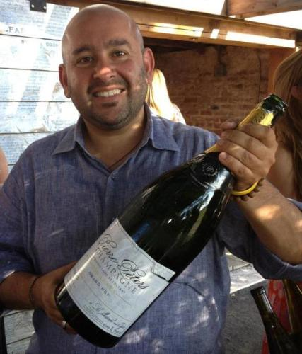 Rajat Parr's 40th birthday, at Scribe Winery. September 2012