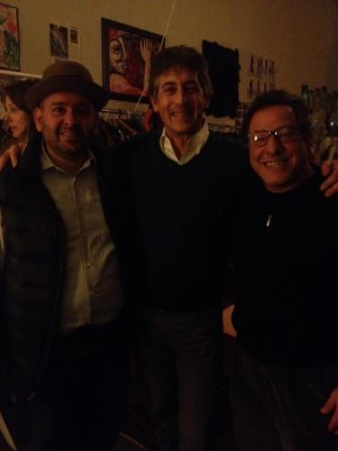 Rajat Parr, Alexander Payne and Evan Goldstein at 35th salon dinner