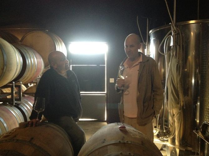 Lloyd Bernberg and Rajat Parr, Sandhi Wines, Lompoc