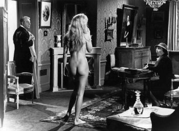 Jean Gabin and Brigitte Bardot meet up in the Georges Simenon adaptation En cas de malheur