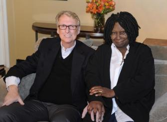 Mike Nichols and Whoopi