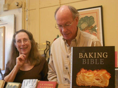 Rose Levy Beranbaum and Woody Wolston at Omnivore Books in San Francisco.