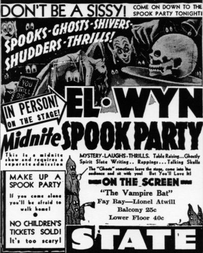 Elwynn spooks