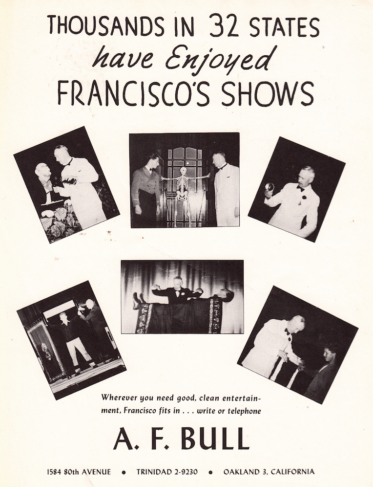 Francisco Magic Sell sheet2