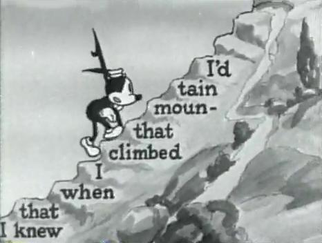 I'd Climb the Highest Mountain (1931)