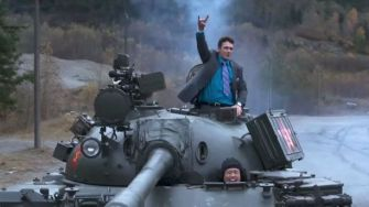 James Franco as Dave Skylark in The Interview .