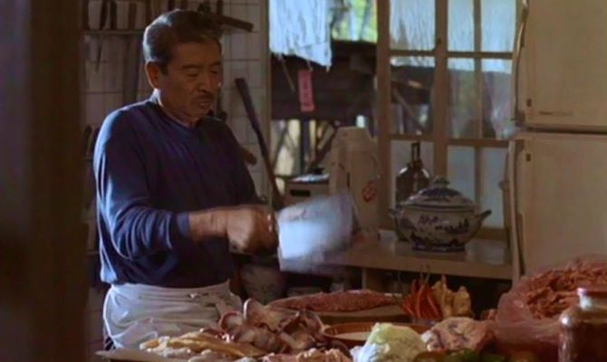 Opening scene of Ang Lee's EAT DRINK MAN WOMAN