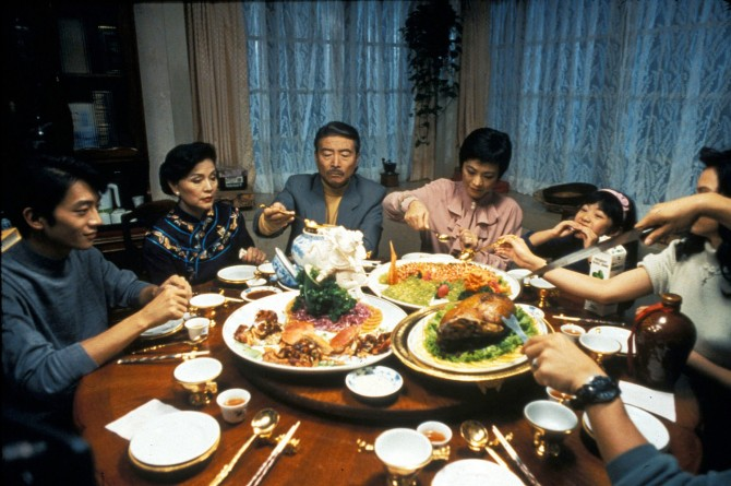Still from Ang Lee's EAT DRINK MAN WOMAN