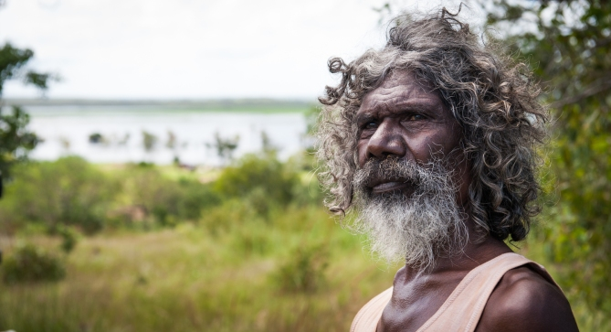 David Gilpilil stars in Charlie's Country .