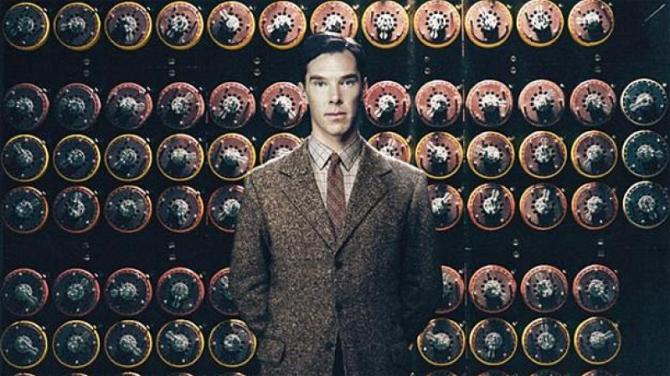 The Imitation Game topped Jan's top 10 list in 2014.