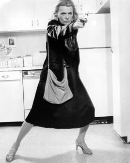 """Gena Rowlands     """"Listen, punk, you will not leave this kitchen without some cherry torte!"""""""