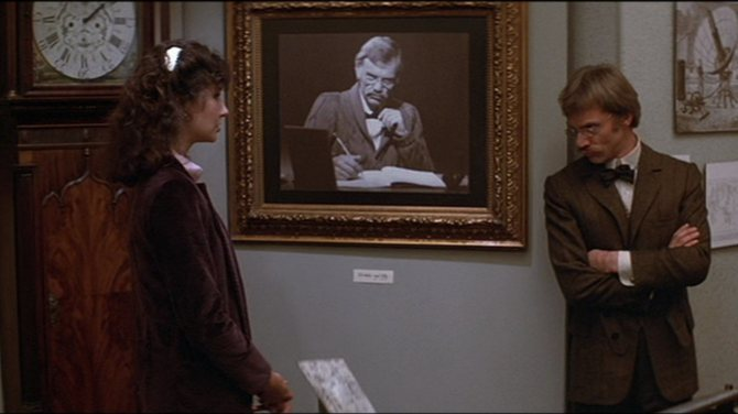 Mary Steenburgen and Malcolm McDowell in Time After Time.