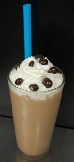 An Alamo Drafthouse Midnight Espresso milkshake.