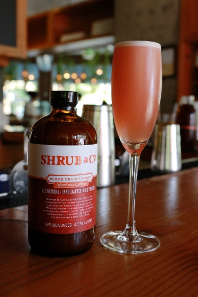 Shrub Blood Orange Sparkler. Credit: Kirsten Lara Getchell Photography.