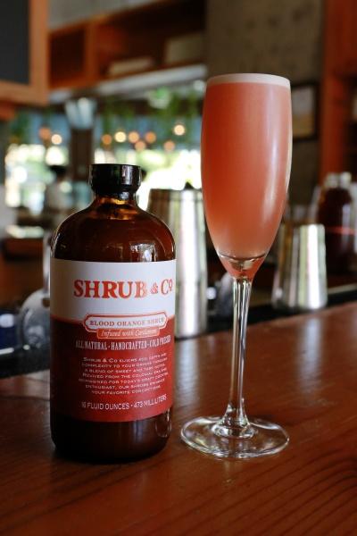 Shrub Blood Orange Sparkler. Credit: Kirsten Lara Getchell Photography.